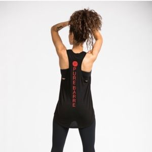 Pure Barre Black Tank Sz XS